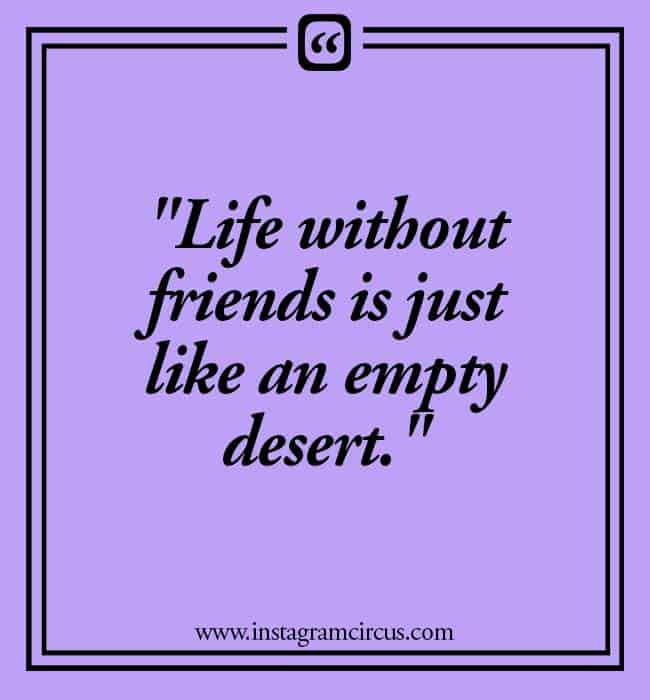 Sweet and short quotes for friends