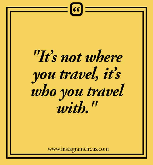 Travel Instagram Caption for Adventure