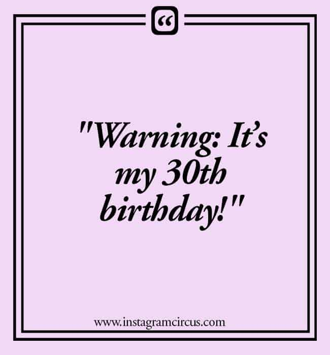 birthday quotes for 30s