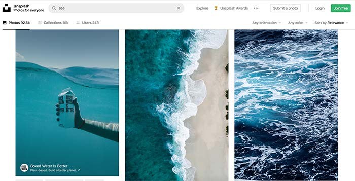 How to find free photos