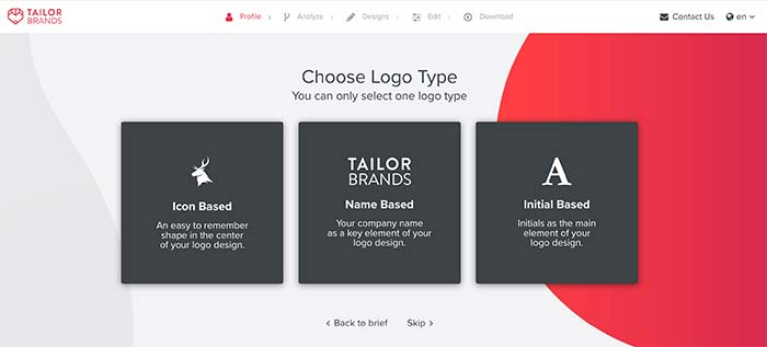 Logo creator free tool