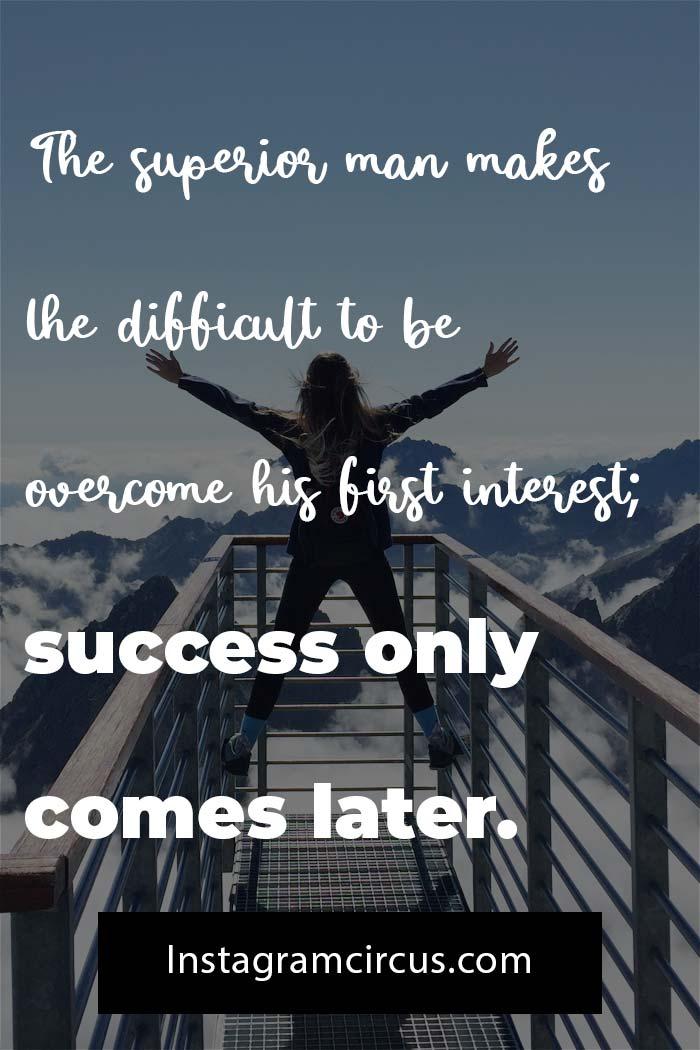Confucius quotes about success