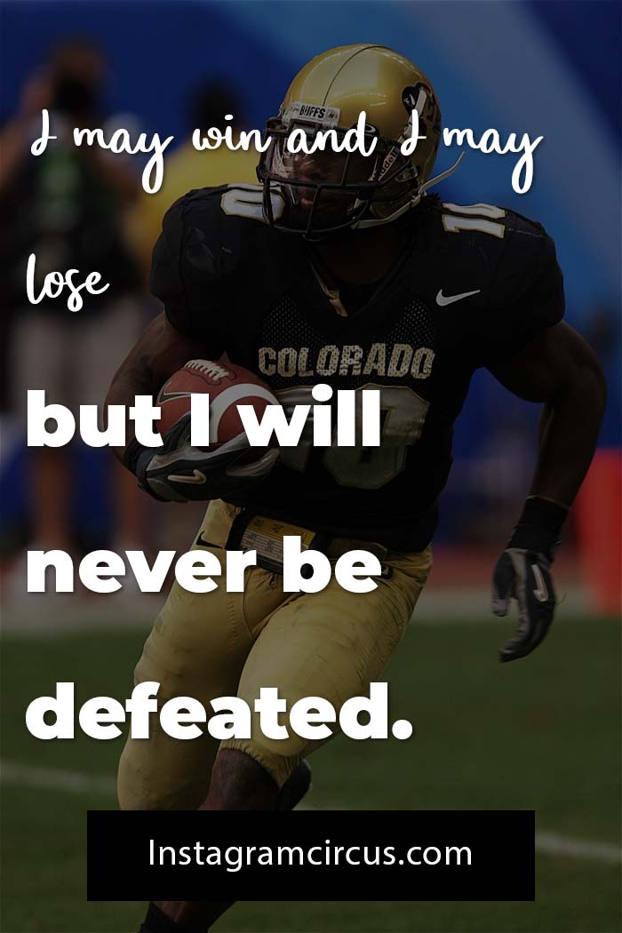 Quotes from football players