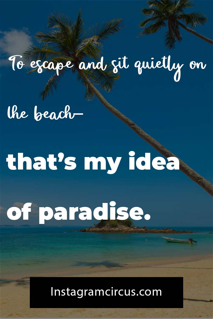Short beach quotes and sayings