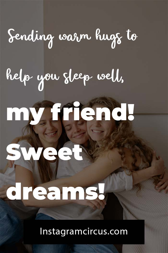 Goodnight quotes about friend