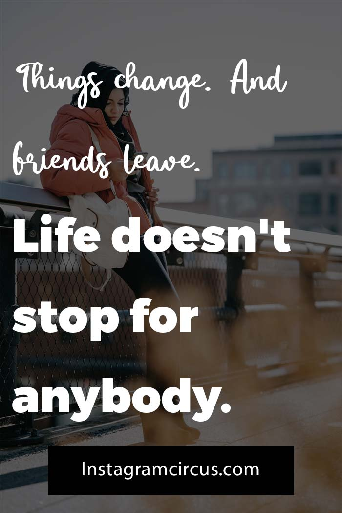 Sad quotes about friends