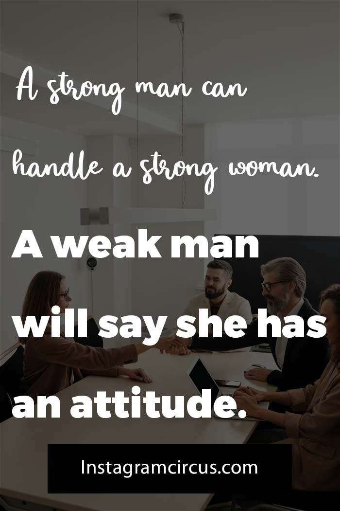 Captions and quotes for businesswomen