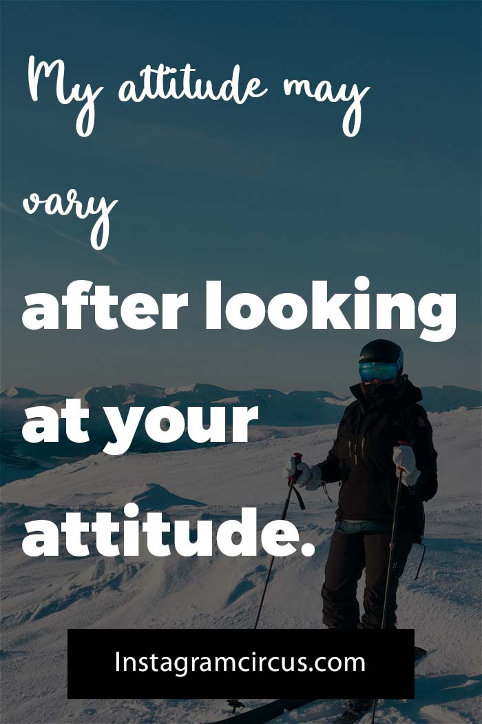 awesome personality attitude quotes