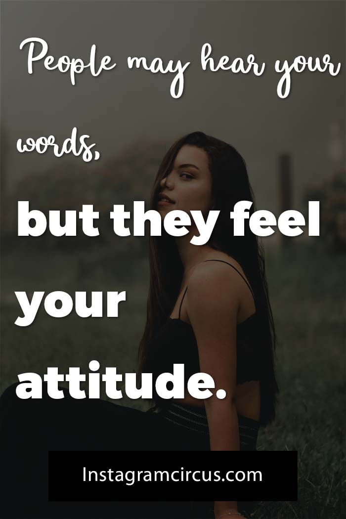 clever personality attitude quotes